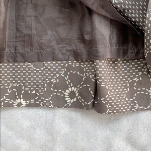 Shulami Skirts - Shulami Skirt Flower Patterned with Sequins Size M
